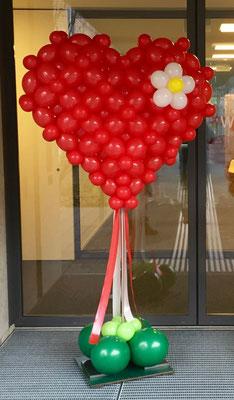 Mr.balloni. ch, Dekoration,  Geschenk, Geburtstag, Herz, Präsent, Muttertag