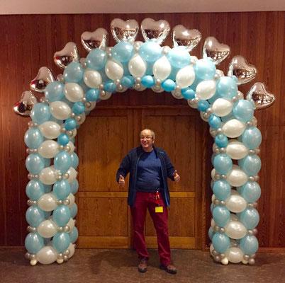 Mr. Balloni.ch, Hochzeit, Liebe,  Dekoration, Überraschung