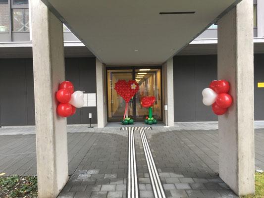 Mr.balloni. ch, Dekoration,  Begrüßung , Wege