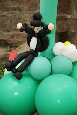 Mr. Balloni.ch, Hochzeit, Liebe,  Ballonrose, Dekoration, Geschenk, Bräutigam,