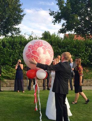 Mr. Balloni.ch, Hochzeit, Liebe, Explosion, Expoloderballon