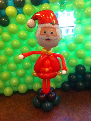 Weihachtsmann, Weihnachten, Ballons, Dekoration