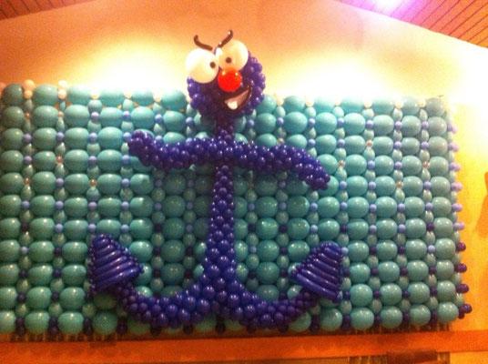Mr. Balloni.ch,  Ballonwand,Raumdeko, Dekorationen, Firma,