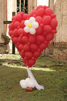 Mr. Balloni.ch, Hochzeit, Liebe,  Herz, Dekoration