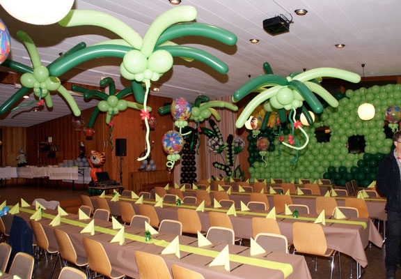 Mr. Balloni.ch,  Tischdekoration,Raumdeko, Dekorationen,Phantasie, Fantasie, Überraschung, Firma, Geburtstag