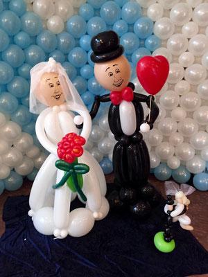 Mr. Balloni.ch, Hochzeit, Liebe,  Dekoration, Geschenk,  Valentinstag, Überraschung, Brautpaar