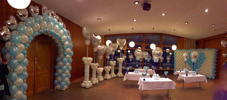 Mr. Balloni.ch, Hochzeit, Liebe,  Ballonherz, Dekoration, Geschenk, Herzen,  Überraschung, Raumdeko