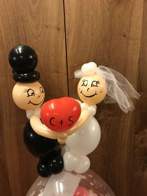 Du und Ich, Hochzeitsdekoration