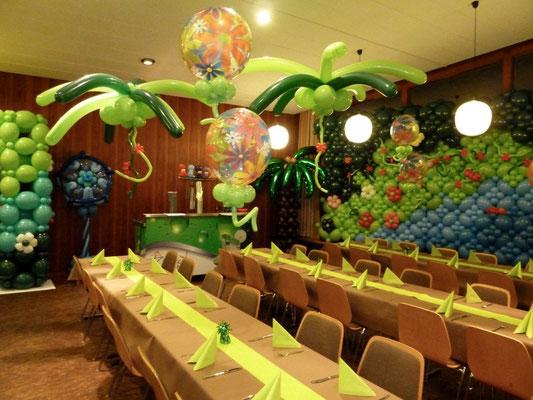 Mr. Balloni.ch,  Tischdekoration,Raumdeko, Ballonwand,Dekorationen,Phantasie, Fantasie, Überraschung, Firma, Geburtstag