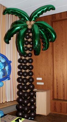 Mr. Balloni.ch, Ballonpalme, Raumdeko,  Dekorationen,Phantasie, Fantasie, Überraschung, Feier, Fest, Geburtstag, Firma