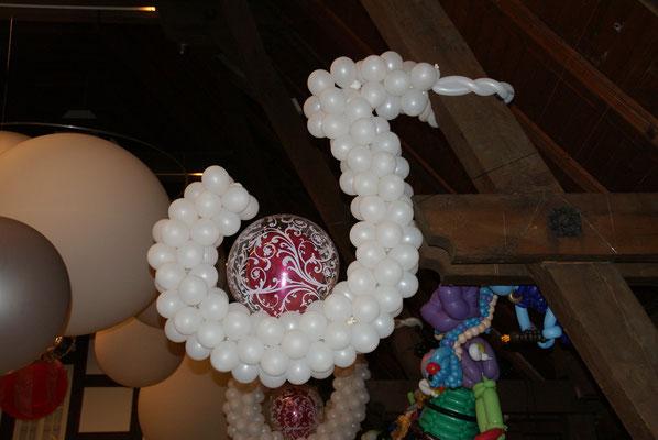 Mr. Balloni.ch,  Ballongirlande,Raumdeko, Dekorationen Firma,