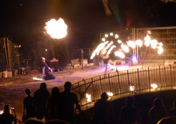 Die Feuershow  ...