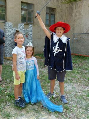 ...  und kleine Ritter und Prinzessinnen ...