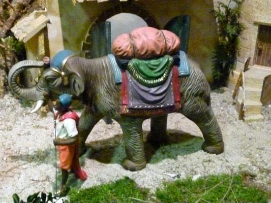 Ein Detail - der Elefant