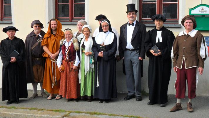 Mitglieder des Geschichtsvereins