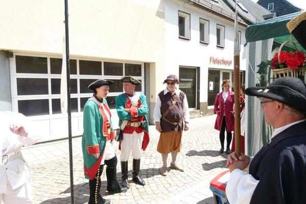 Kanonieren und Schlosswache