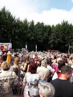 Das Fest lockte viele Besucher an