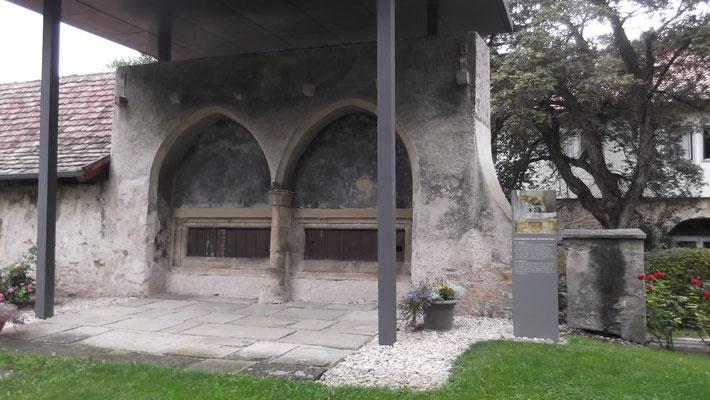 Das Sprechgitter im Kloster