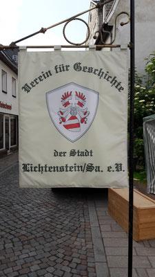 Unsere neue Vereinsfahne