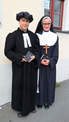 Katholische Schwester und evangelischer Pfarrer ...