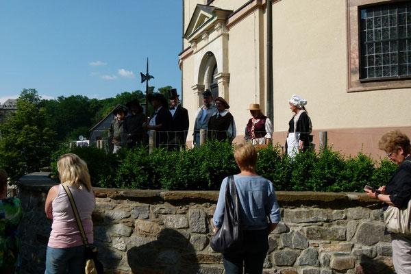 Start am Kirchplatz