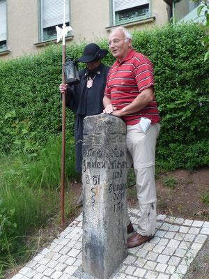 Uwe Querengässer gibt Auskunft über diese und weitere Säulen in Lichtenstein und Umgebung.