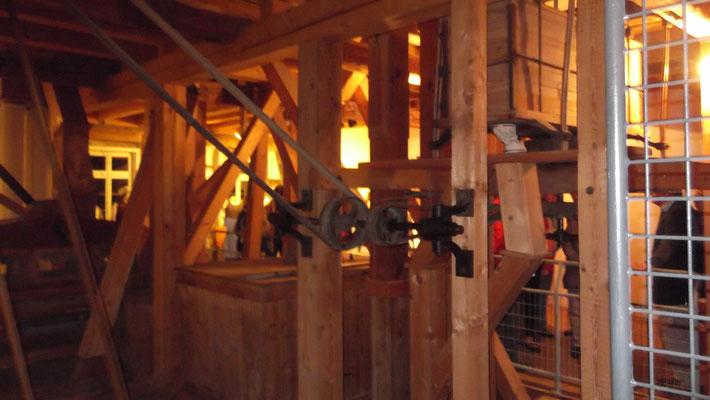 Besuch bei Nacht in der Baumannschen Mühle