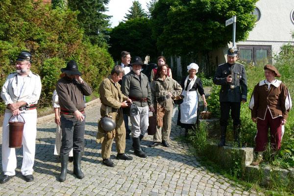 Am Friedhofsberg ...