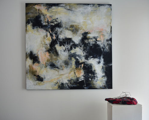 Acryl auf Leinwand, 100 cm x 100 cm, 2021