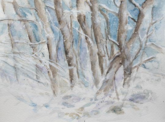 Winterlandschaft, (Verkauft)