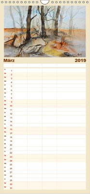 Aquarellkalender