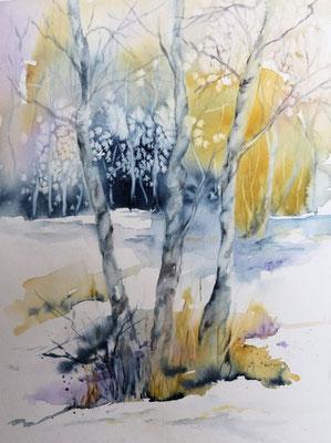 Winterlandschaft (Verkauft)