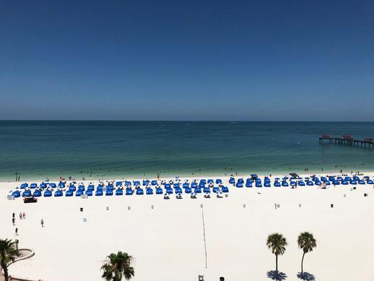 Das beschauliche Viertel Clearwater Beach ist für den gleichnamigen Strand mit weichem, weißem Sand bekannt