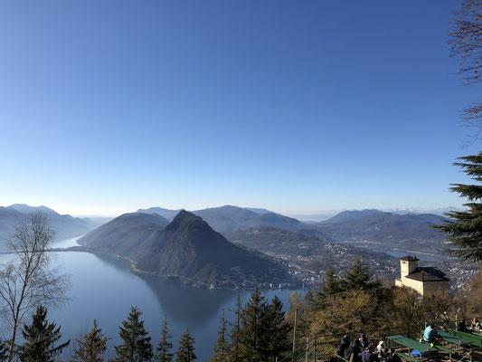 Der Monte Brè ist ein Berg östlich von Lugano an der Flanke des Monte Boglia