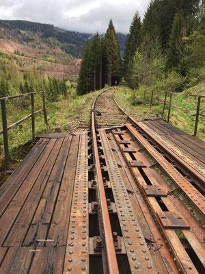 Stahlträgerbrücke, km 4,1