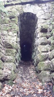 II. Sauerbrunngraben, km 5,852; Portal talseitig