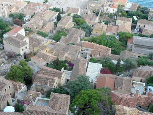 Die Unterstadt von oben