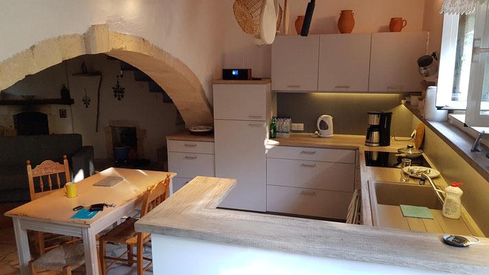 nochmal die Küche