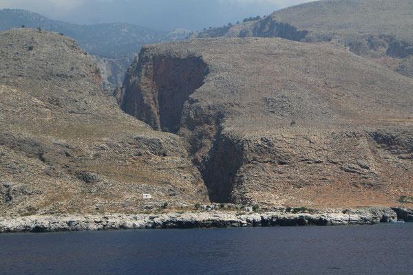 Die Schlucht von der Seeseite