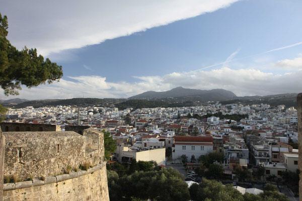 Rethimno von der Festung aus gesehen