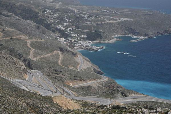 Blick zur Küste nach Chora Sfakion