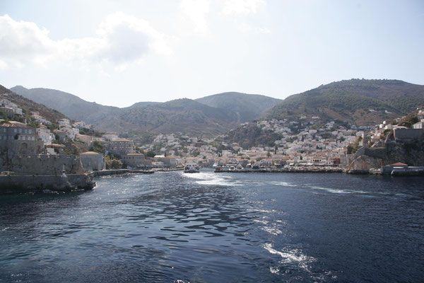 der Hafen des Hauptortes