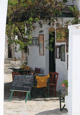 Cafe an der Platia