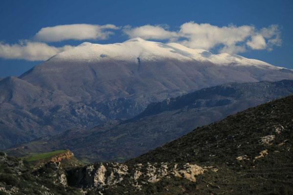 ... unterhalb der Weißen Berge