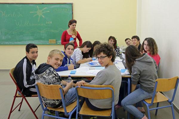 Schuluntericht im Gymnasium