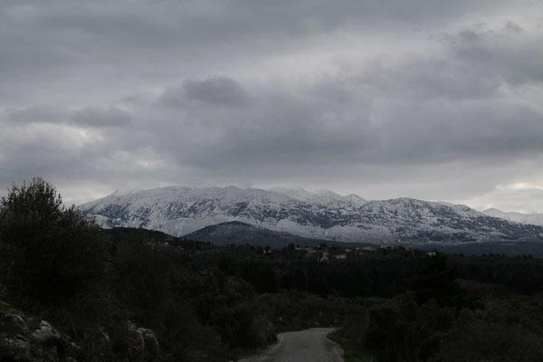 ... und im Winter zu den Weißen Bergen