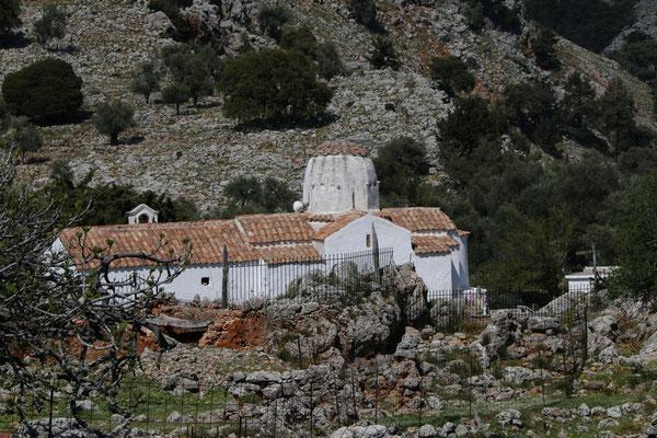 der verlassenen Ort Aradena
