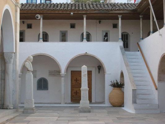 der Innenhof des ehemaligen Klosters