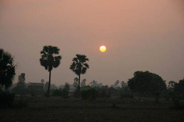 Sonnenaufgang in Siam Reap