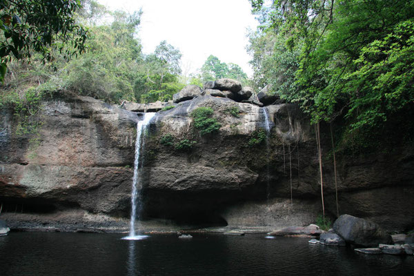 Der berühmte Wasserfall aus dem Film The Beach